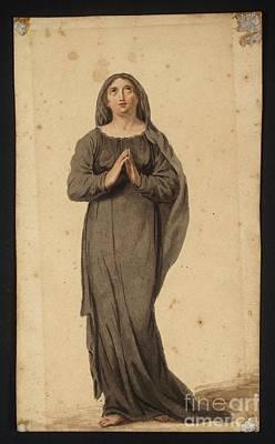 Title Woman Praying Poster