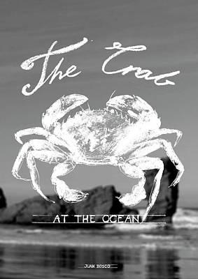 Velvet Crab, Poster by Juan Bosco