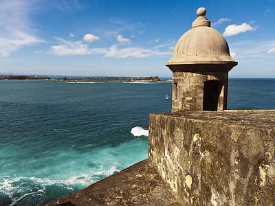 View From El Morro Fort Poster by George Oze
