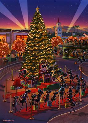 Visiting Santa Anta  Poster