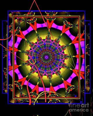 002 - Mandala Poster by Mimulux patricia no No