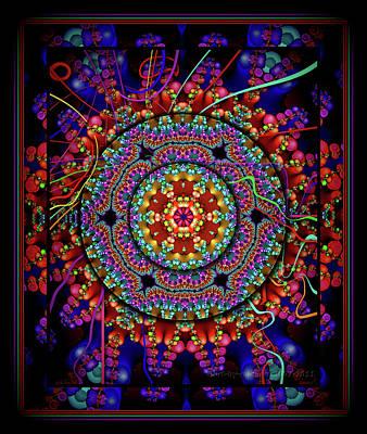 003 - Mandala Poster by Mimulux patricia no No