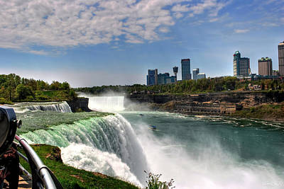 004 Niagara Falls  Poster