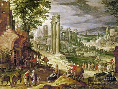 Roman Forum, 16th Century Poster