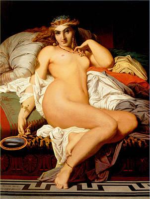 Phryne Poster by Gustave Boulanger