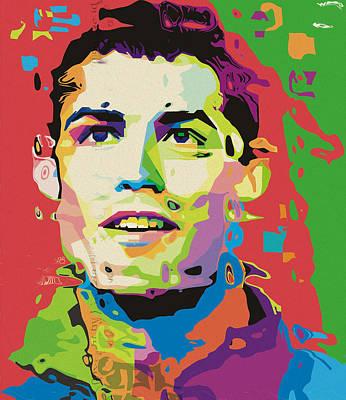 0176 Ronaldo By Nixo Poster
