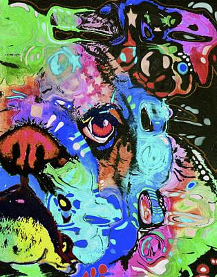 0209 Bulldog  By Nixo Poster