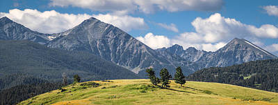 #0491 - Spanish Peaks, Southwest Montana Poster