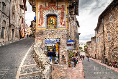 0755 Assisi Italy Poster