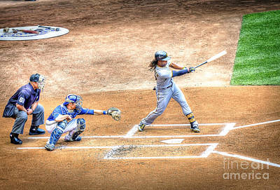 0989 The Swing - Mccutchen Poster by Steve Sturgill