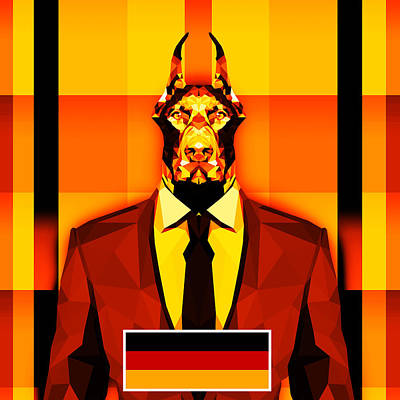 12 Doberman Poster
