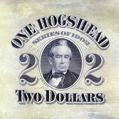 1902 Hogshead Beer Tax Stamp Poster