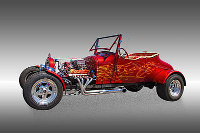 1927 Ford Hot Rod Poster by Nick Gray