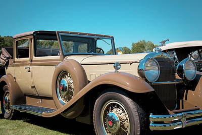 1931 Packard Deluxe Eight Poster