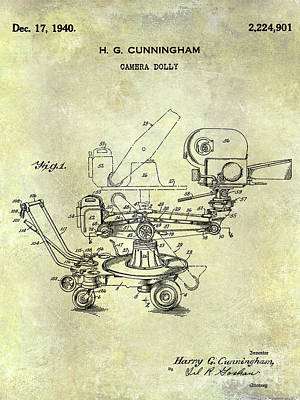 1940 Camera Dolly Patent  Poster