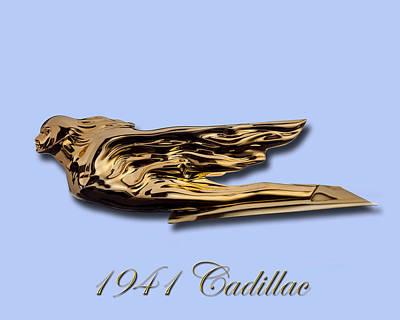 1941 Cadillac Mascot Poster