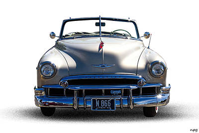 1949 Chevrolet Convertible Poster by Nick Gray
