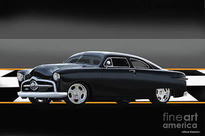 1950 Ford Custom Coupe II Poster