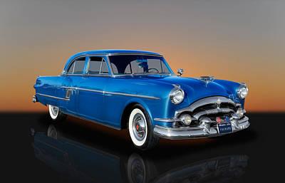 1954 Packard Patrician Sedan - Series 5426 Poster by Frank J Benz