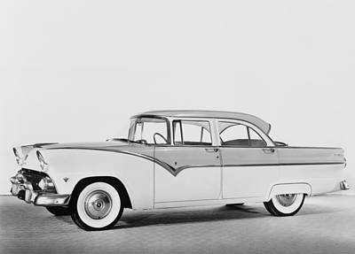 1955 Ford Four-door Sedan Featured Poster
