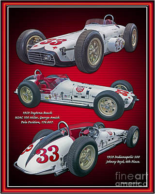 1959 Bowes Seal Fast Spl. Poster