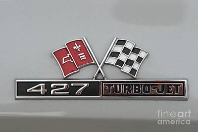 1966 Chevrolet Corvette Sting Ray 427 Turbo-jet Poster