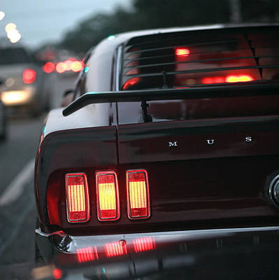 1969 Ford Mustang Mach 1 Poster