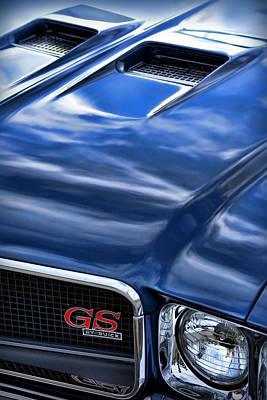 1970 Buick Gs 455  Poster by Gordon Dean II