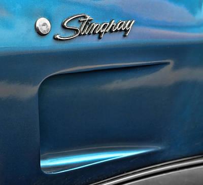 1973 Chevrolet Corvette Stingray Poster