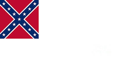 2nd Confederate Flag Poster