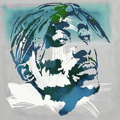 2pac Tupac Shakur Pop Art Poster Poster