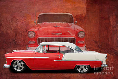 55 Chev Beauty Poster