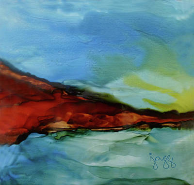 9-b Landscape Poster by Jazz Art