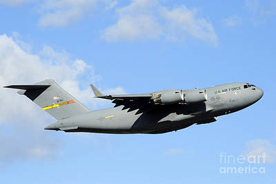 A C-17 Globemaster IIi Poster by Stocktrek Images