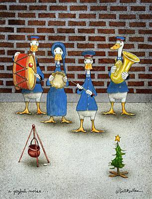 A Joyful Noise... Poster by Will Bullas