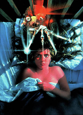 A Nightmare On Elm Street 1984 Poster by Unknown