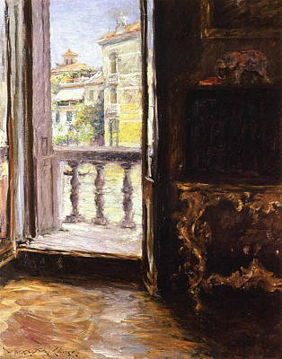A Venetian Balcony Poster
