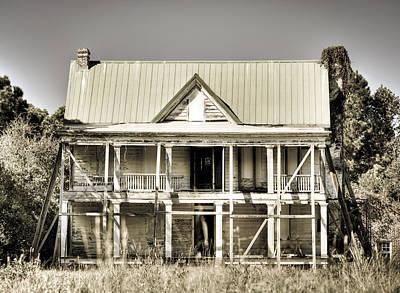 Abandoned Plantation House #1 Poster by Andrew Crispi