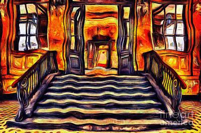 Abandoned Stairs Poster by Milan Karadzic