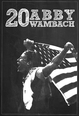 Abby Wambach Poster by Semih Yurdabak