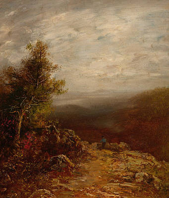 Above The Clouds Poster by Ralph Albert Blakelock