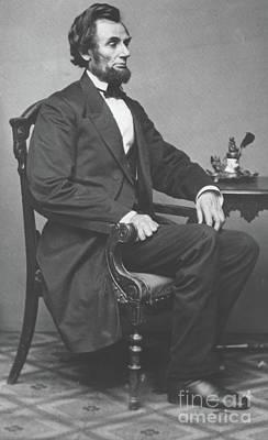 Abraham Lincoln Poster by Alexander Gardner