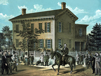 Abraham Lincoln's Return Home Poster