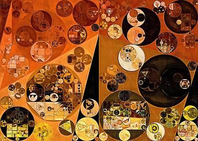 Abstract Painting - Casablanca Poster by Vitaliy Gladkiy
