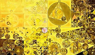 Abstract Painting - Hacienda Poster by Vitaliy Gladkiy