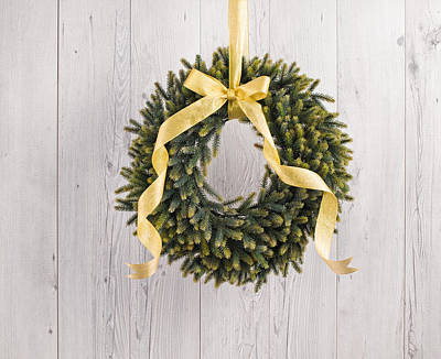 Poster featuring the photograph Advents Wreath by Ulrich Schade