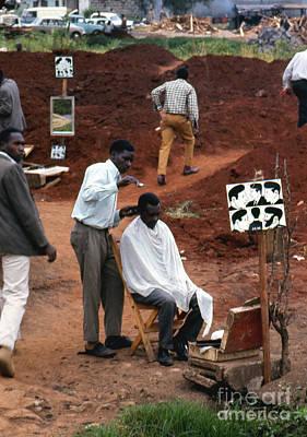 African Barbershop Poster