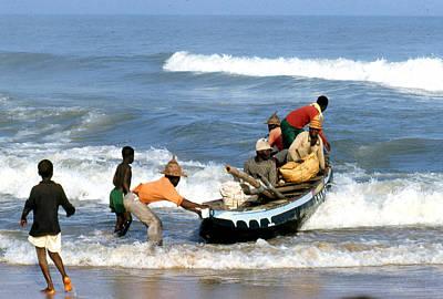 African Fishermen 1971 Poster