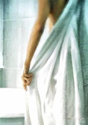 After The Bath Poster by Gun Legler