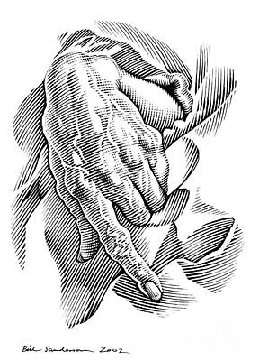 Aged Hand, Artwork Poster